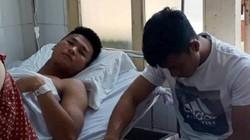 Cầu thủ bị Huỳnh Tấn Tài đá gãy chân nghỉ thi đấu 1 năm