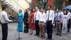 Hội ND TP.Hải Phòng tổ chức nghi thức chào cờ đầu tuần
