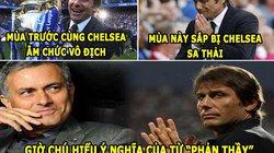 """ẢNH CHẾ BÓNG ĐÁ (15.5): Mourinho an ủi Conte, CLB TP.HCM """"chơi lớn"""""""