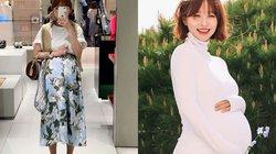 Phong cách mẹ bầu sành điệu nhất xứ Kim Chi
