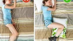 Ngủ ở mọi tư thế không lo gây hại cơ thể nhờ những cách hóa giải ít biết này