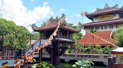 Độc đáo chùa Một Cột hơn 50 năm tuổi giữa lòng Sài Gòn