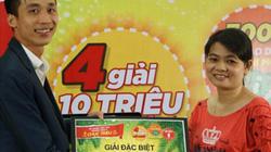 Uống Trà thanh nhiệt Dr Thanh, khách hàng bất ngờ trúng 2 giải chục triệu đồng
