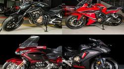 Tận mắt 9 môtô khủng Honda vừa trình diện tại Việt Nam