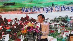 Nghệ An: Huyện Nam Đàn đón bằng công nhận huyện đạt chuẩn nông thôn mới