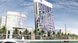 """Dubai: Xuất hiện nhà """"đến từ tương lai"""", giống hệt iPad"""