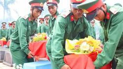 Truy điệu, an táng 21 liệt sĩ hy sinh ở Campuchia