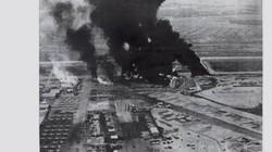 Tan hoang căn cứ Biên Hòa sau trận pháo kích của Quân Giải phóng
