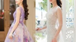 Lộng lẫy với váy xuyên thấu, 2 hoa, á hậu đài VTV đẹp nhất tuần