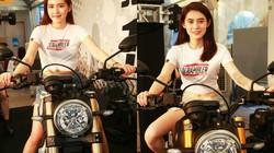 Ngắm cặp người mẫu tinh khôi bên Ducati Scrambler 1100