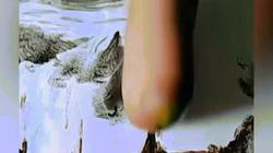 Người đàn ông Trung Quốc tạo nên kiệt tác từ đôi tay cụt