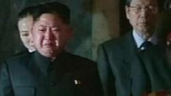Lần hiếm hoi Kim Jong-un bật khóc?
