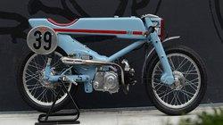 Độc đáo Honda Super Cub cafe racer siêu lạ