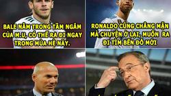 """ẢNH CHẾ BÓNG ĐÁ (1.6): Real """"tan đàn xẻ nghé"""", Zidane """"gieo sầu"""" cho Perez"""