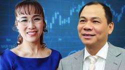 """""""Cổ phiếu họ Vin"""", VJC đột phá, tỷ phú Phạm Nhật Vượng, Nguyễn Thị Phương Thảo thu về 4.000 tỷ"""