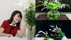 Mê loài hoa dại, bà mẹ Hà thành chẳng tốn một xu vẫn có những bình hoa lạ tô điểm cho tổ ấm