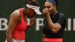 """Pháp mở rộng 2018: """"Báo đen"""" Serena Williams thua te tua ở nội dung đôi nữ"""