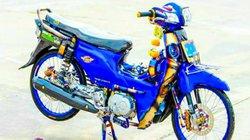 Huyền thoại Honda Dream độ đồ chơi hay, màu sắc nổi bật