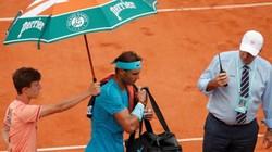 Pháp Mở rộng 2018: Khi Nadal gặp khó, trời lại đổ mưa to