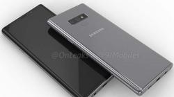 Video đồ họa Galaxy Note 9, ra mắt tháng 8