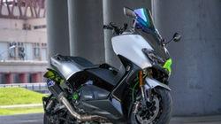 Yamaha TMAX 530 bọc sợi carbon nâng tầm đẳng cấp xe ga cỡ lớn