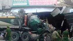 Kinh hoàng: Xe tải đâm sập tường 3 ngôi nhà lúc rạng sáng