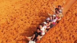 Sảng khoái với trải nghiệm trượt cát ở Mũi Né