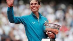 """""""Hạ gục nhanh"""" Thiem, Nadal lần thứ 11 vô địch Pháp Mở rộng"""
