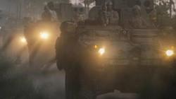 """Đi """"dằn mặt"""" Nga, lại thêm một chiến xa Stryker Mỹ gặp nạn"""