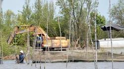 Tự ý cho dân thuê đất nuôi sò đổ bùn ra sông, chủ tịch xã bị đề nghị cảnh cáo