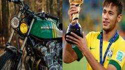 Ngắm Honda CB750K Brat màu cờ quê hương chân sút Neymar