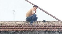 Gần 3 giờ vây bắt nam thanh niên nghi ngáo đá cố thủ trên mái nhà