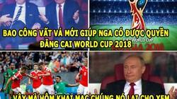 ẢNH CHẾ WORLD CUP (15.6): Ả Rập Saudi là trẻ con, Ramos dọa Ronaldo