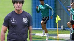 HLV Joachim Low và ĐT Đức than khó mặt sân cỏ ở Nga