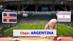 """Clip: Vẹt """"tiên tri"""" dự đoán Argentina đả bại Iceland"""