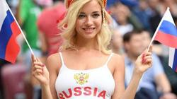 """Nữ CĐV Nga """"nóng bỏng nhất World Cup"""" là ngôi sao... phim khiêu dâm"""