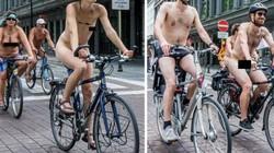 Hàng trăm người khỏa thân đạp xe dạo phố để phản đối điều này