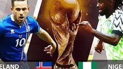 """Phân tích tỷ lệ Iceland vs Nigeria (22h): """"Đại bàng xanh"""" khó cất cánh"""