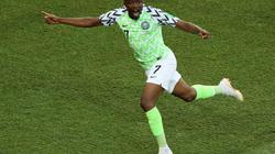 """Musah lập cú đúp, Nigeria """"quật ngã"""" Iceland"""