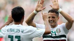 Javier Hernandez ghi bàn, Mexico hạ gục Hàn Quốc