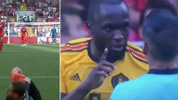Ngỡ ngàng tình huống Lukaku xin trọng tài không thổi penalty