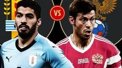 Nhận định tỷ lệ phạt góc Nga vs Uruguay (21 giờ ngày 25.6)