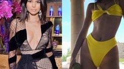 Siêu mẫu Kendall Jenner bị chê khi mặc bikini