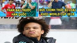ẢNH CHẾ WORLD CUP (28.6): Đức bị loại vì Ozil, Sane mỉa mai Joachim Low