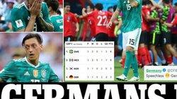 ĐT Đức nhận điềm gở trước trận để rồi thua ê chề Hàn Quốc?