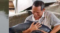 """Làm giàu ở nông thôn: Tuấn cầu Nề và trang trại nuôi toàn cá """"khủng"""""""