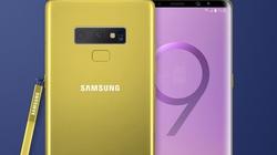 HOT: Samsung lộ video Galaxy Note 9 có màu vàng siêu đẹp
