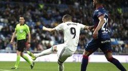 """""""Chân gỗ"""" Benzema lập siêu kỷ lục khiến Ronaldo, Messi phải bái phục"""