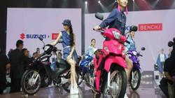 Suzuki Smash, Raider ra màu mới cạnh tranh Wave Alpha, Exciter