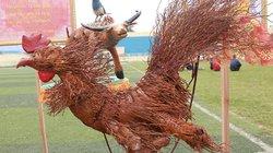 Chiêm ngưỡng 12 con giáp làm từ rễ tre độc nhất vô nhị ở Việt Nam